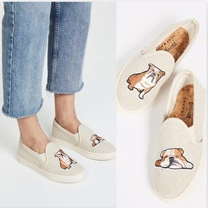 Soludos x Lucy Mail Bulldog Slip On Sneakers